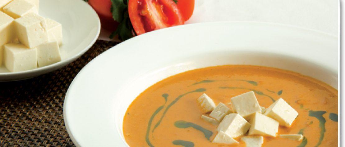 Crema de Tomate y Panela