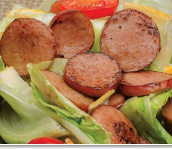 Grilled Sausage Salad