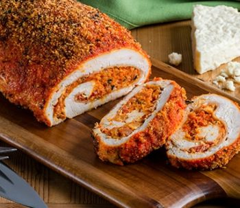 Citrus and Achiote-Spiced Stuffed Turkey Breast